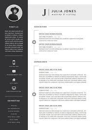 Unique Resume Best Artistic Resume Templates Unique Resume Template Cv Template Cover