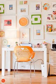 color schemes for home office. Fun Office Orange Organic Chair-interior-design-ideas Home Ideas 20 Color Schemes For I
