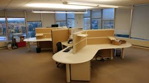 office with cubicles. (24) Kimball 21x12 Office With Cubicles