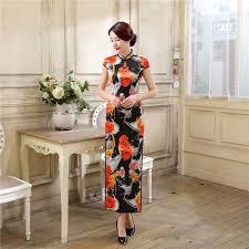 Online Shop <b>New</b> Style <b>Chinese</b> Women Traditional <b>Dress</b> Satin ...
