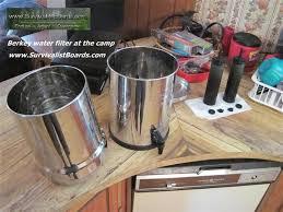 Royal berkey water filter Cylinder Royal Berkey Water Filter Rural Lifestyle Royal Berkey Water Filter At The Camp Rural Lifestyle