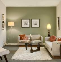 Accent walls look best when they are solid