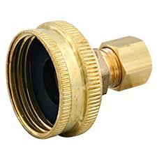 1 inch garden hose. Watts LFLA696 Compression X Hose Swivel Adapter 3/4-Inch Garden 1 Inch