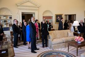 president in oval office. George Bush Oval Office. File:barack Obama In The Office Replica W President F