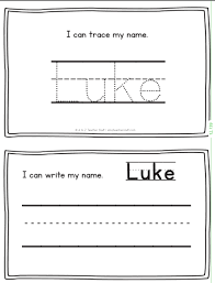Luke Name Printables For Handwriting Practice A To Z