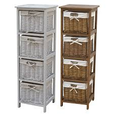 wicker basket shelves. Contemporary Shelves Wicker Baskets Are A Great Storage Solution And Combined With These Wooden  Tallboys They Will Make Your Home Look Tidier Cosier And Warmer On Basket Shelves O