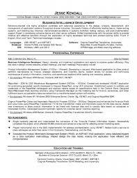 bi developer resumeexample business intelligence developer resume sample - Cognos  Developer