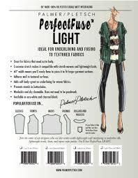 Pellon Interfacing Chart Interfacings Sewing Fusible Weft Sheer Light Medium