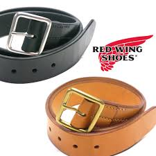 redwing red wing genuine bridle leather belt 40 mm herman oak leather style no
