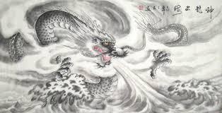 dragon chinese painting cnag250585