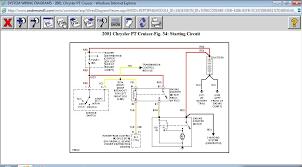 pt cruiser will not spin over with key 2001 PT Cruiser Altenator Diagram at 2001 Wiring Diagram 2001 Pt Cruiser