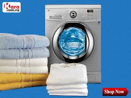 washing machine with clothes. a washing machine (laundry machine, clothes washer, or washer) is to wash laundry, such as clothing and sheets. the term mostly applied only with e