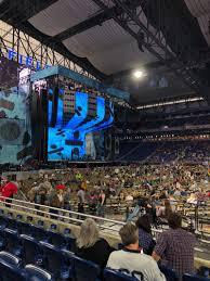 Ed Sheeran Tampa Seating Chart Ford Field Section 106 Row 5 Seat 21 Ed Sheeran Tour