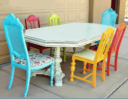 colorful painted furniture. Colorful Painted Furniture I