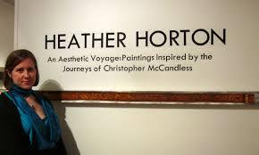 Chris Mccandless Diary Heather Horton Artwork June 2011