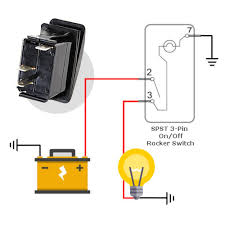 5 Pin Lighted Rocker Switch Wiring Diagram Marine Rocker Switches With Light Wiring Diagram Wiring