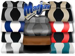 golf car seat cushions wave two tone seat covers cushions