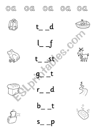 Check out our collection of printable phonics worksheets for kids. Phonic Sound Oa Esl Worksheet By Alishen