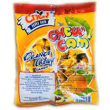 Kẹo Mềm Chew Hải Hà Vị Cam (Gói 105g) giảm chỉ còn 8,500 đ