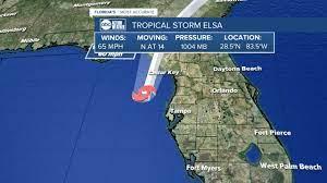 LIVE BLOG: Tropical Storm Elsa
