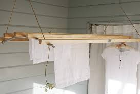wooden ceiling clothes drying rack ceiling hanging clothes drying rack 2985 with regard to mounted