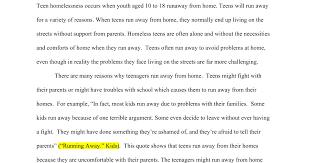 mariano teen runaways essay google docs