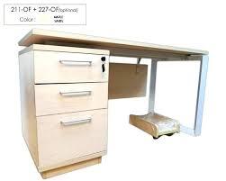 locking computer desk under desk file cabinet wood l shaped desk with hutch and file cabinet