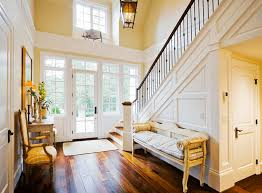 warm and welcoming hallway color ideas