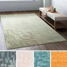 hand tufted columbine wool viscose area rug rugs