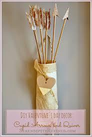 diy valentine s day decor cupid arrows and quiver