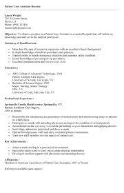 Patient Care Technician Sample Resume Enchanting Patient Care Technician Resume Resume Template Ideas