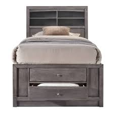 Madison Twin Storage Bed Gray - Picket House Furnishings : Target