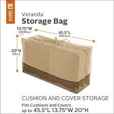 h patio cushion storage bag