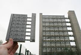 cool architecture buildings. Wonderful Cool Brutal London Paper Miniatures Of Concrete Architecture With Cool Buildings