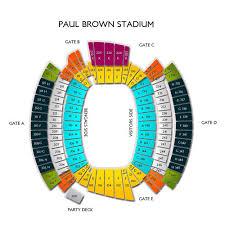 Paul Brown Stadium Tickets Cincinnati Bengals Home Games