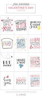 Printable Valentines Day Cards Jane Blog