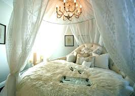 Sheer Canopy Curtains For Bed White Around Bedroom Blackout Lining ...