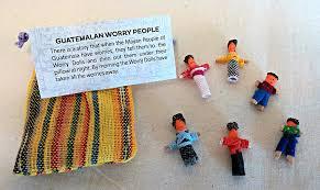 Worry Dolls - Guatemalan Worry People - Bag of 6 Handmade Small ...