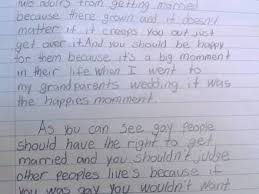 essay grader teaching love and laughter kindergarten and fourth grader 039 s gay marriage essay goes viral photo