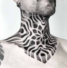 50 Incredibly Cool Neck Tattoos For Men And Women Straight Blasted