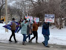 Pro-Trump Protestors March on Downtown ...