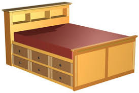 storage bed plans. This Double Size High Bed Plan Is A Modified Version Of Our Queen Storage #04-212. It Very Practical As Converts Unused Space Into An Plans I