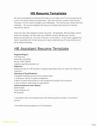 Luxury Hr Resume Objective Beautiful Resume Template For Freshers