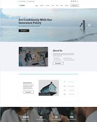 Bootstrap Website 5 Of The Best Bootstrap Website Templates For Insurance