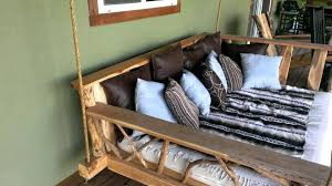 Porch Swing Bed Cool Porch Swing Youtube