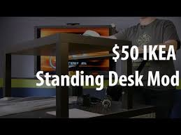 The $50 IKEA Standing Desk Mod