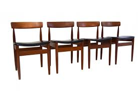 mid century danish dining chairs s set of  for sale at pamono