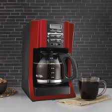 To accomplish this, they typically have to use about 1000 watts. Mr Coffee Advanced Brew 12 Cup Programmable Coffee Maker Red Mrcoffee Coffee Maker Cleaning Red Coffee Maker Coffee Maker