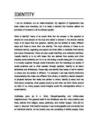 essay on identity essays on identity my identity essay atsl ip essays on identityidentity essays essay on identity any papers essays