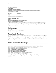 resident experience 8 cardiologist resume